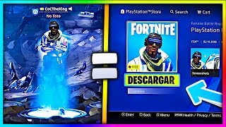 HOW TO GET FREE SKINS ON FORTNITE! (SKINS PLAYSTATION PLUS + FREE HOME PACK)