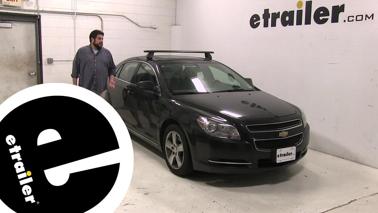 Etrailer Rhino Rack Roof Rack Review 2011 Chevrolet Malibu Youtube