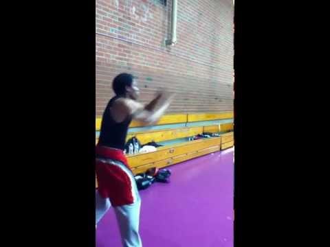 Henry Mercer Shadow Boxing