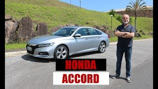 Honda Accord Touring 2.0 Turbo - Teste com Emilio Camanzi
