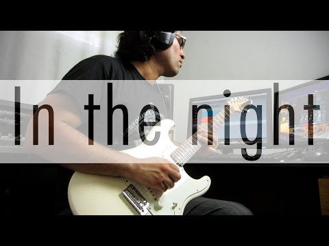 The weeknd in the night - electric guitar cover by Ivo Cabrera