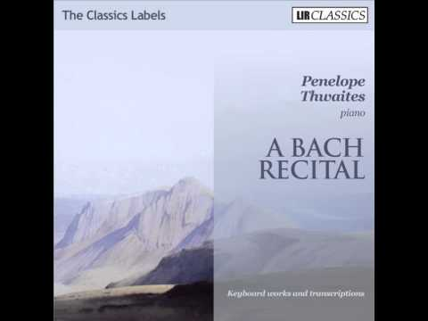 Penelope Thwaites plays Mortify Us By Thy Grace - from BWV22, arr Rummel