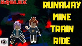 Roblox HALLOW'S EVE SINISTER SWAMP RUNAWAY MINE TRAIN RIDE