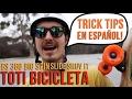 Trick Tips en Espan?ol | 360 Backside Shuv It with Toti Bicicleta