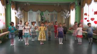 Открытый урок танцев. Садик N 74