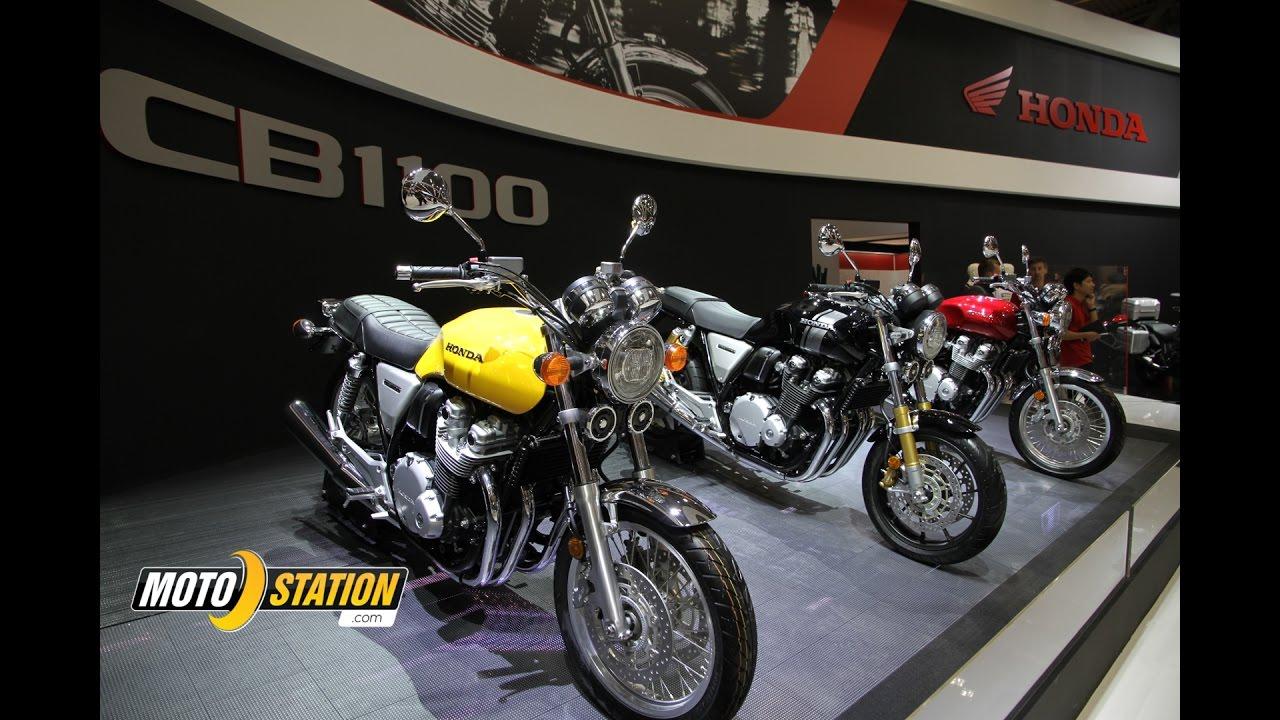 Intermot 2016 Honda Cb 1100 Rs Et Ex 2017 Touche De