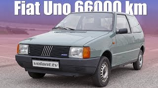 Fiat Uno so 66000 km je stroj času - volant.tv