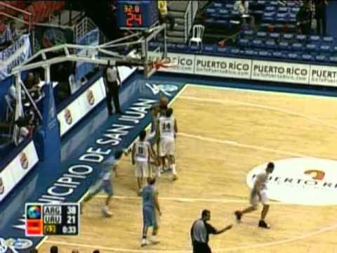 Uruguay Vs. Argentina / 2009 FIBA Americas Championship