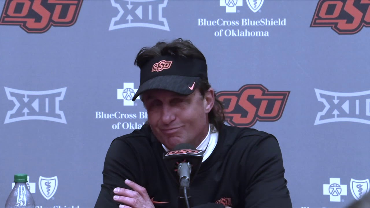 OSU football: Mike Gundy says QB decision was made 3-4 days before game