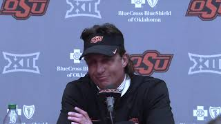 OSU Football - Mike Gundy full post-game press conference
