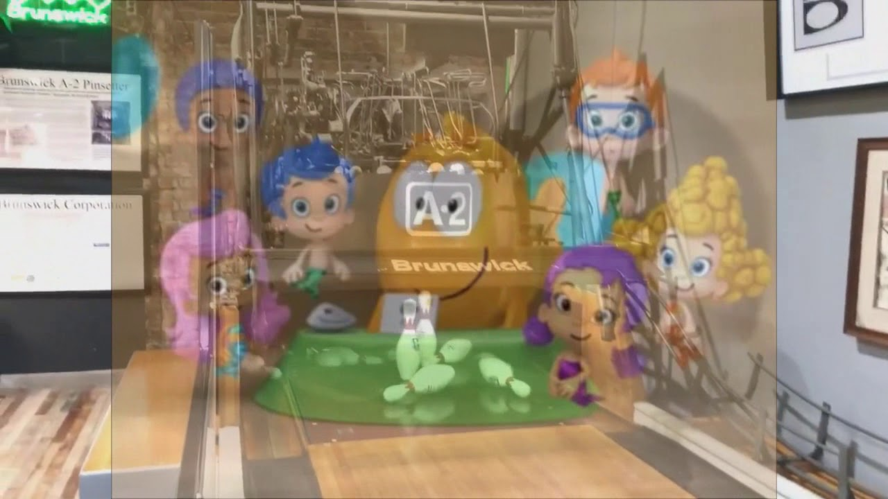 Bubble Guppies Brunswick A2 Pinsetter on a museum in Michigan