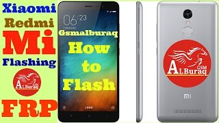 How To Flash Xiaomi Redmi Mi Note 3,without Any Device,Xiaomi FRP Solution