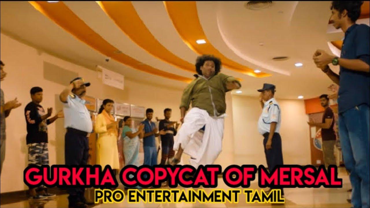 Gurkha Official Teaser Copy Cat Of Mersal Thalapathy Vijay, Yogi Babu | Tamil New Movies Copycat Sce