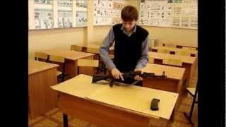 Порядок сборки разборки автомата Калашникова