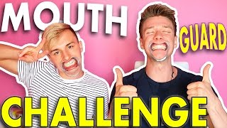 MOUTHGUARD CHALLENGE w/ Lucas Cruikshank | Collins Key