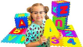 تعلم الأبجدية الإنجليزية للأطفال مع ديانا ABC Song