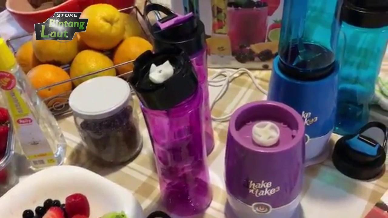 Shake N Take Generasi 3 2 Tabung Youtube Blender And Bottle