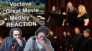 """Voctave - Great Movie Medley"" Singers Reaction"