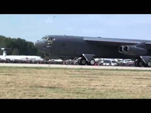 Boeing B 52 Stratofortress Awesome take off - Military Aircraft    Military Documnetary