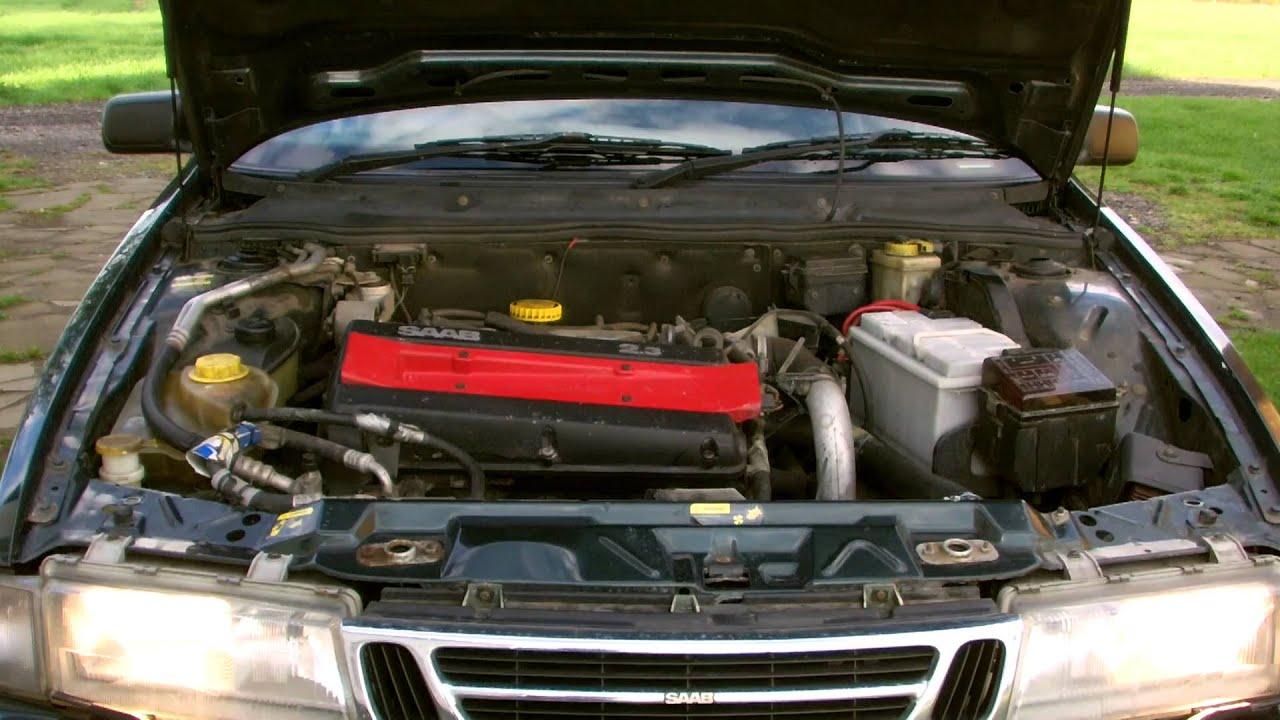 SAAB 9000 2.3 Turbo Engine - YouTube