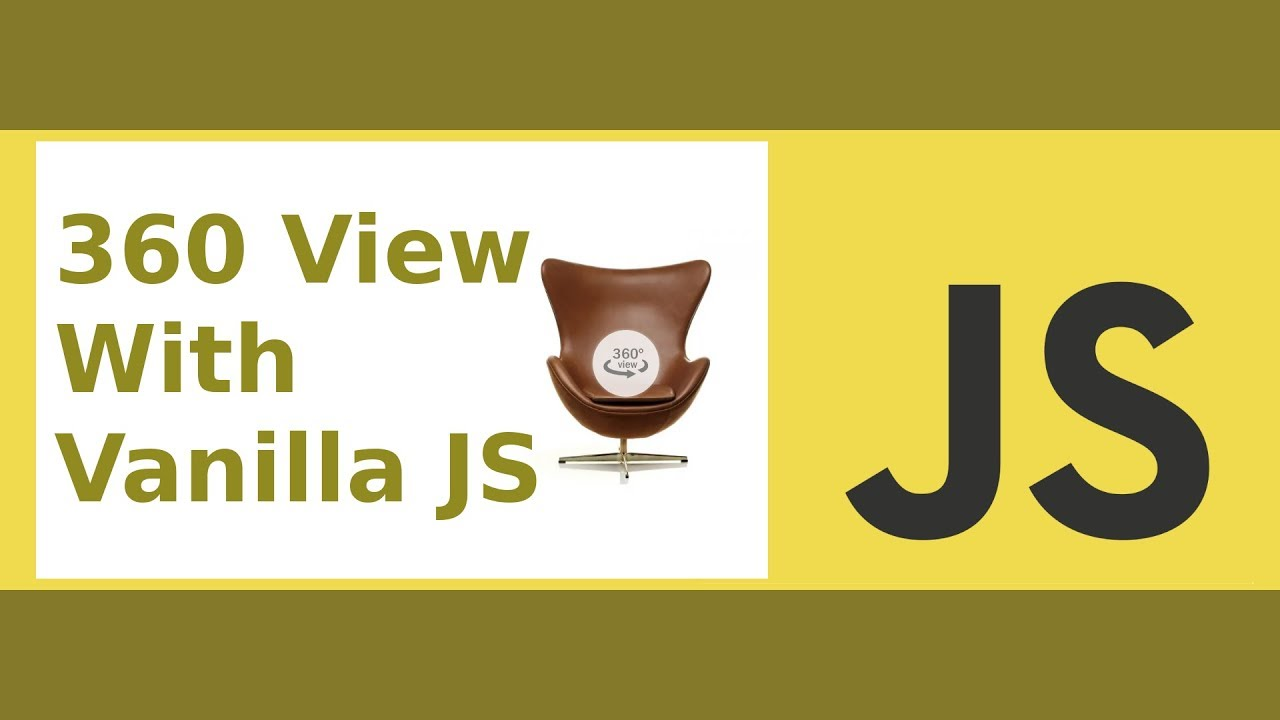 360 Spin View with Vanilla JS (Full Featured)