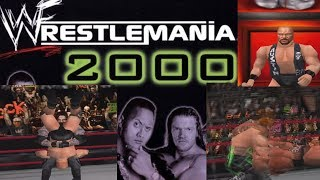 WWF Wrestlemania 2000 N64 (Gameplay)
