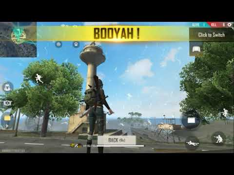 Booyah!!! Free Fire Gameplay #4
