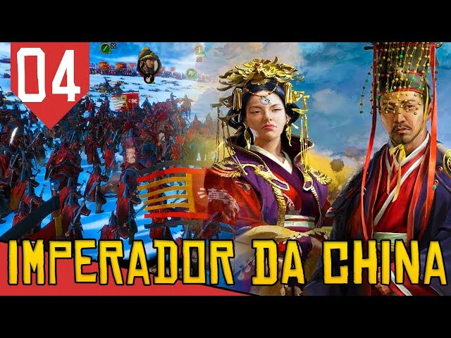 SANGUE na Neve - Total War Three Kingdoms Liu Hong #04 [Série Gameplay Português PT-BR]