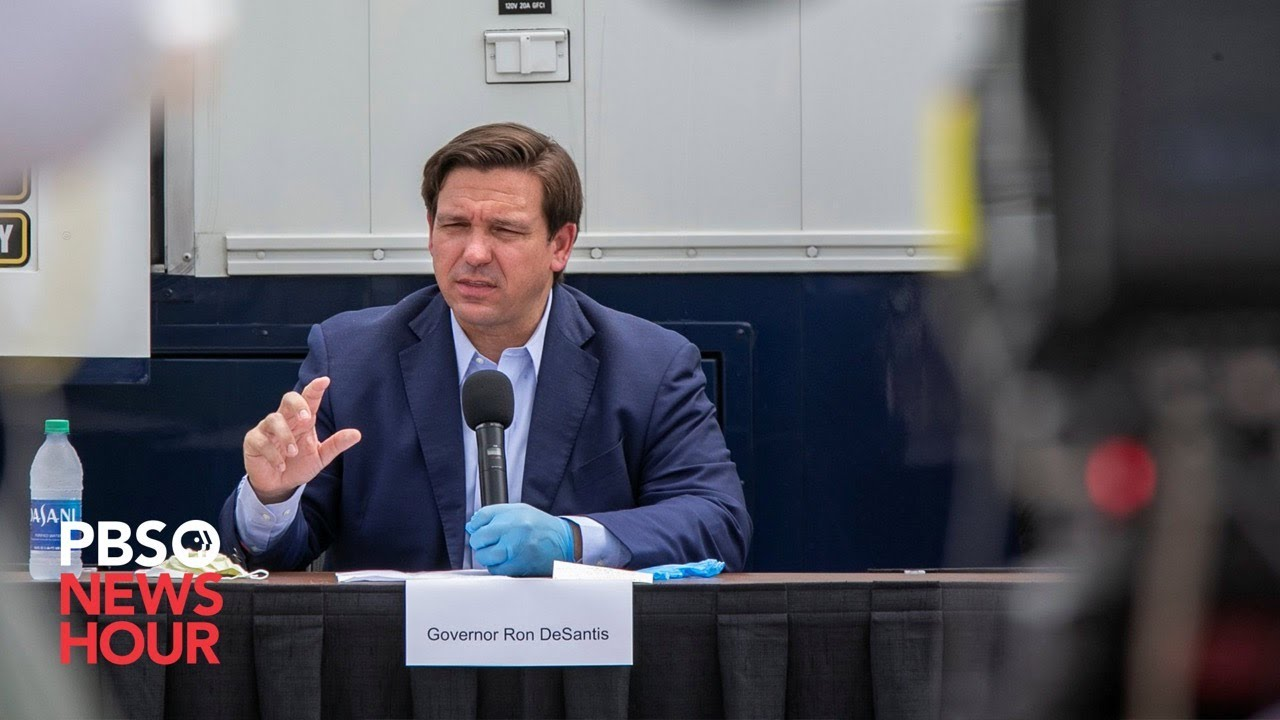 Florida Governor Ron DeSantis Ends All COVID Rules, Regulations