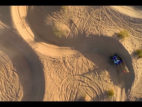 Extended Cut - Glamis Dunes Aerial Video with Yamaha SE Raptor 700R and YFZ450R - GoPro 3+