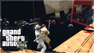 "GTA V - ""ELECTRIC SLIDE!?"" - GTA 5 Funny Moments"