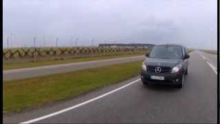 New Mercedes-Benz Citan 2012 driving scenes dark