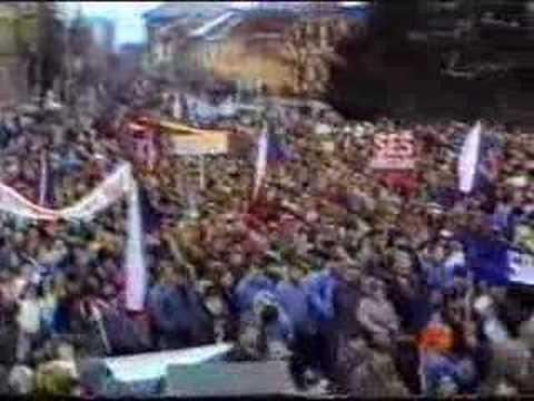 Břeclav 1989 - sametová revoluce 2.část