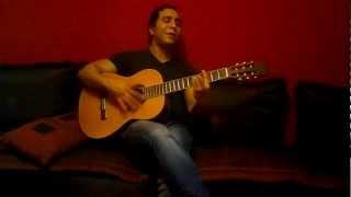 Weftakart : (Mohamed Hamaki: cover acoustic )  supéérrrrrr voix de  ghassan abounasr