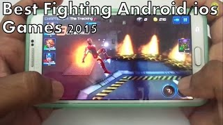 Top 10 Best Fighting Games for Android/ios 2015
