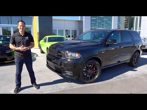 Is the 2020 Dodge Durango SRT the BEST 3-row Muscle Car SUV?