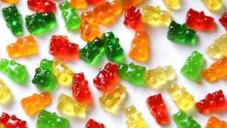 Gummy bears recipe | homemade chewy gummy bears recipe