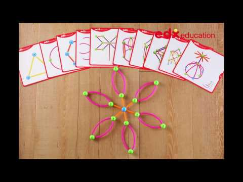 Skeletal Starter Geo Set - Edx Education, Fine Motor Skills, Creativity  - Stop Motion