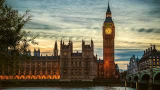 편안한 카페음악 런던 밤거리 백색소음 + 째즈음악 (Relaxing London Evening Streets Sound Music)