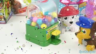 Paw Patrol vs Bubble Guppies vs Yo Gabba Gabba gumball tongues slime funny superhero IRL