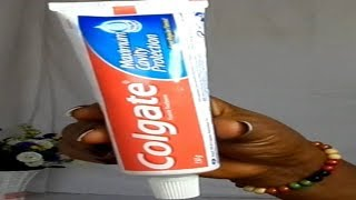 Wash Your Pubic Area With Toothpaste See Magic For Yourself  Lighten Dark Tighs