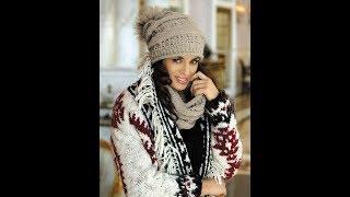 Женские шапки и шарфики, которые модные в этом году