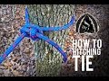 How to Tie a Hitching Tie