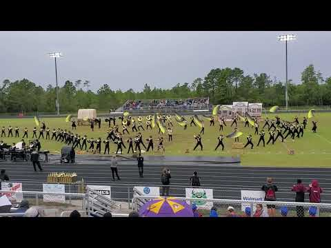 "Havelock High School Marching Band 10/19/2019 ""Wanted"""