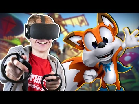 ADVENTUROUS PLATFORM GAME IN VIRTUAL REALITY! | Lucky