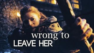 Jon & Ygritte | wrong to leave her