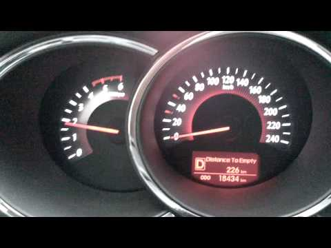2012 Kia Sorento 2.2L CRDI A/T 0-100km/h Test