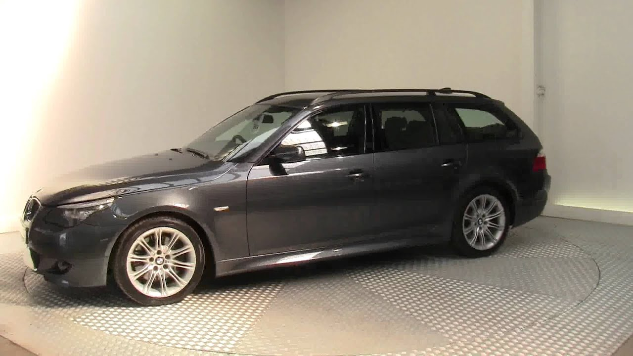 2008 BMW 5 SERIES 530I M SPORT TOURING - YouTube