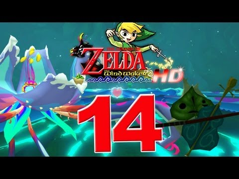 Let's Play The Legend of Zelda The Wind Waker HD Part 14: Link vs. Kalle Demos