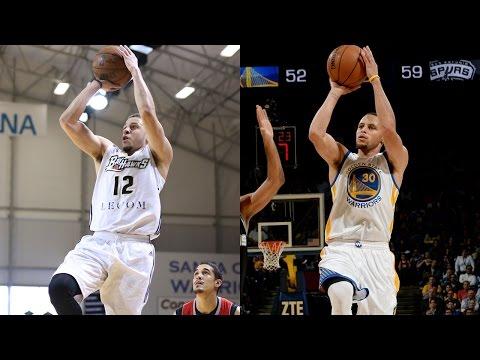 Seth & Stephen Curry: Biological Splash...